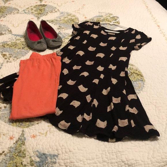921b7f6e2a543 jumping beans Other - Girls size 7 matching swing-dress & leggings set
